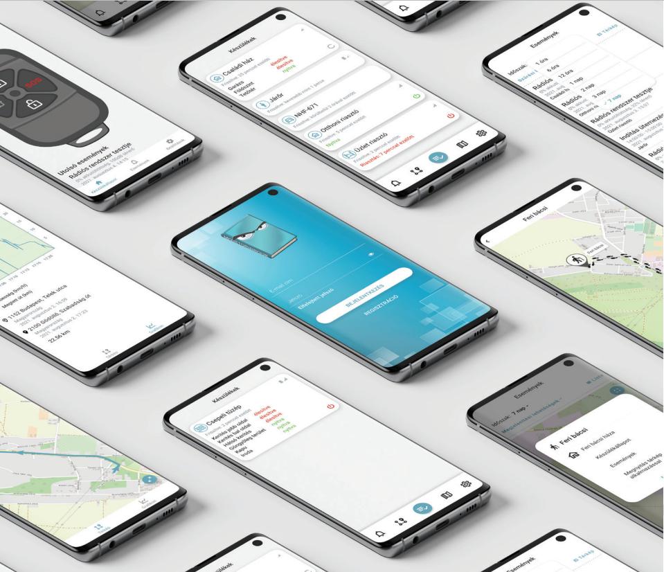 Távfelügyeleti mobilalkalmazás